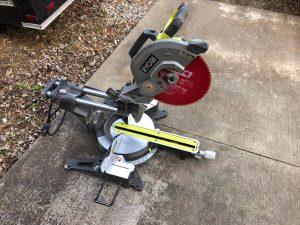 Ryobi miter saw parts TSS120L