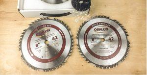 Oshun SDS-0842 8-inch 42 tooth dado blade set