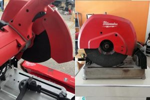 "Milwaukee 6177-20 14"" Abrasive Chop Saw's Powerful 15 Amp"