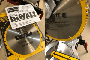 You can't imagine how powerful the saw blade of DWS709 and DWS780 is