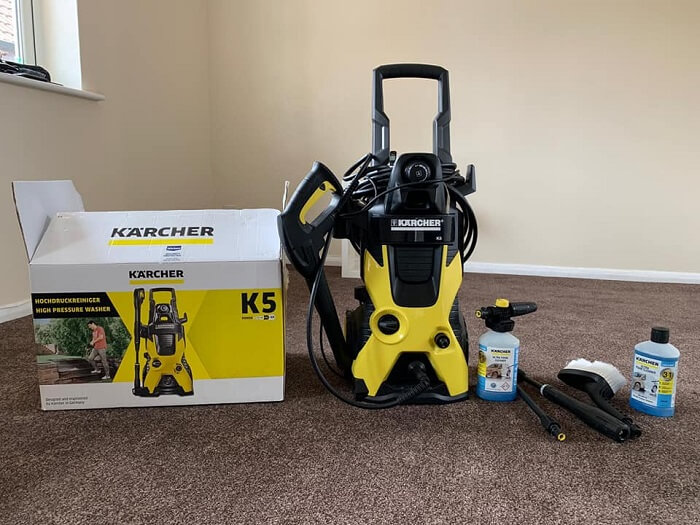 Karcher K5 2000 PSI, 1.4 GPM Electric Power Pressure Washer