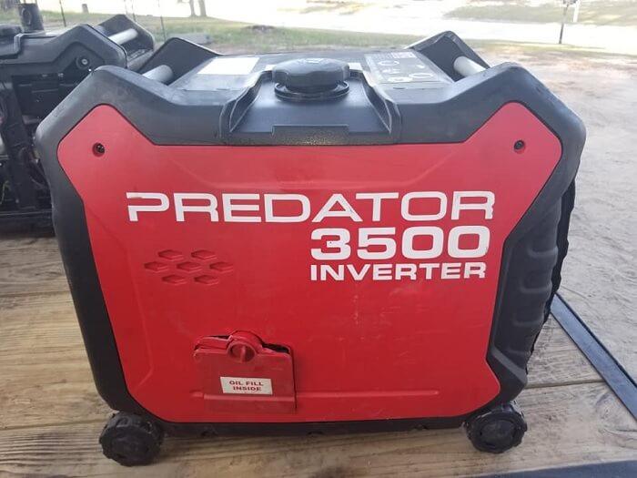 Predator 3500 Super Quiet Inverter Generator