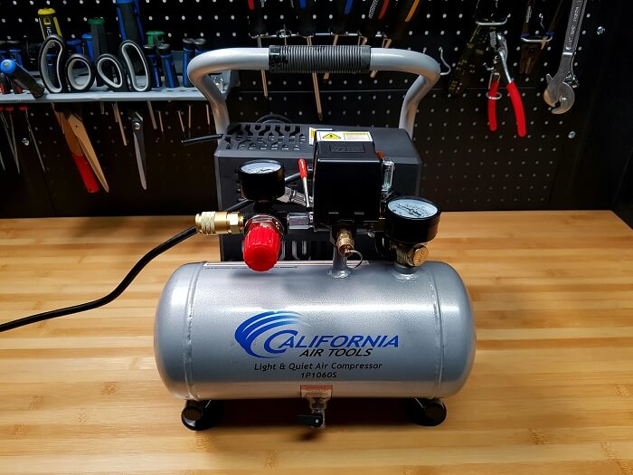 California Air Tools CAT-1P1060S Quiet Portable Air Compressor
