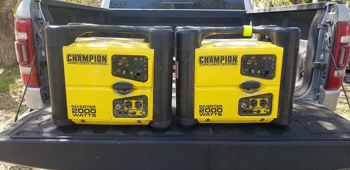 Champion 73536i 2000-Watt Portable Inverter Generator