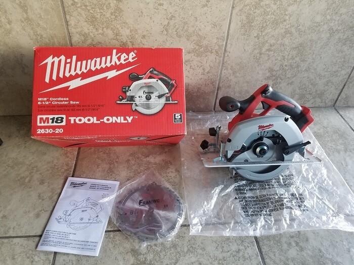 Milwaukee 2630-20 Circular Saw