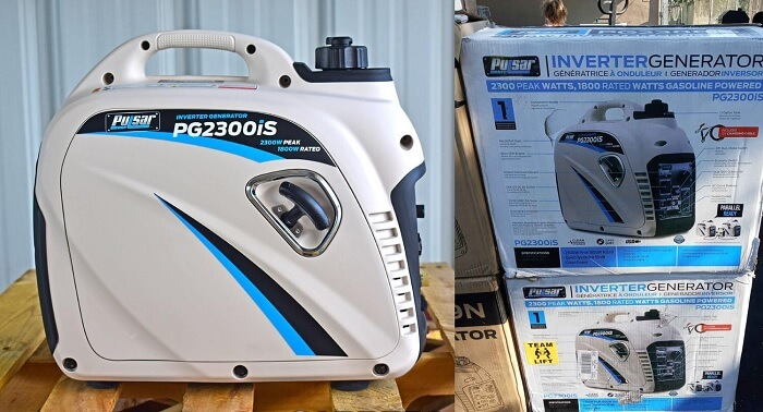 Pulsar PG2300iS Portable Gas-Powered Inverter Generator