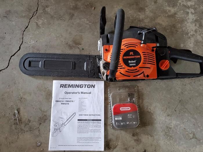Remington RM4218 18-Inch Gas Powered Chainsaw