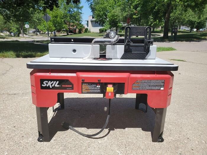 SKIL RAS800 Router Table