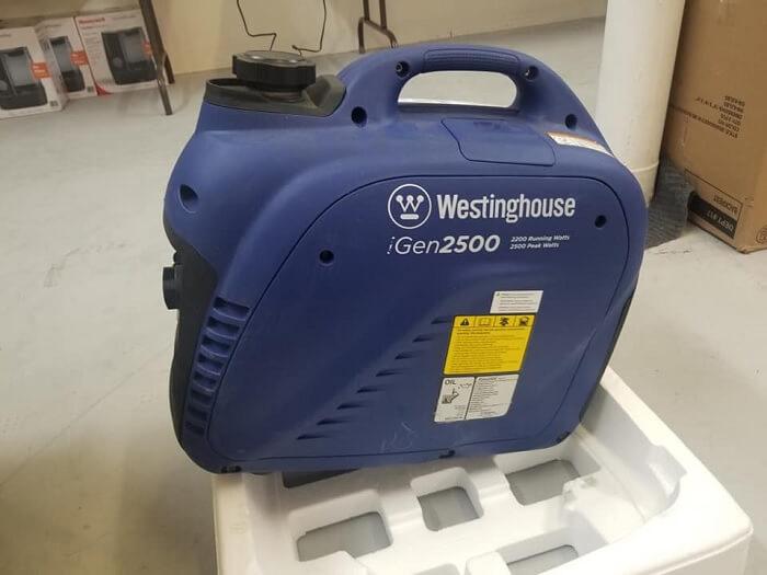 Westinghouse iGen2500 Super Quiet Portable Inverter Generator