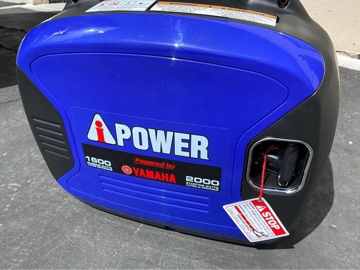 A-iPower SC2000iV 2000-Watt Yamaha Engine Portable Inverter Generator