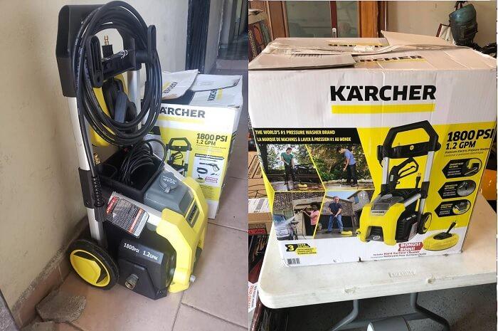 Karcher K1800 Electric Power Pressure Washer