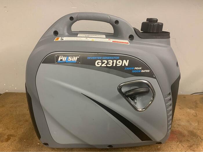 Pulsar G2319N Portable Gas-Powered Inverter Generator