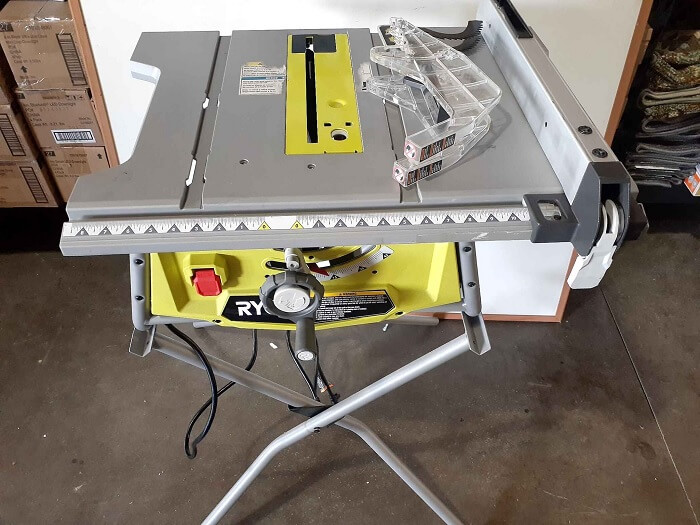 Ryobi RTS11 Table Saw