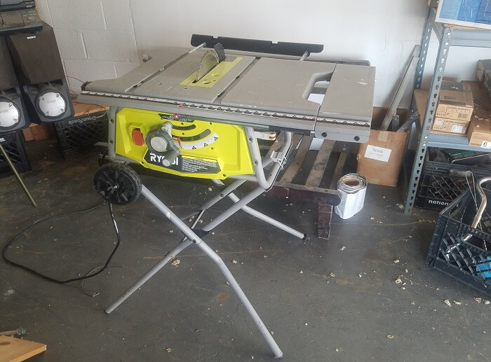 Ryobi RTS22 Table Saw