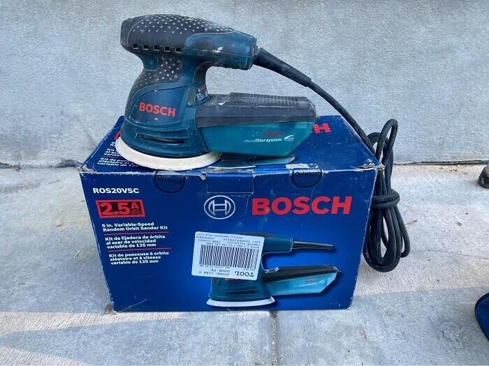 Bosch ROS20VSC Random Orbital Sander/Polisher Kit
